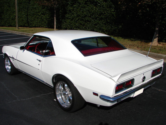 1968 CHEVROLET CAMARO RS/SS COUPE - Rear 3/4 - 63962