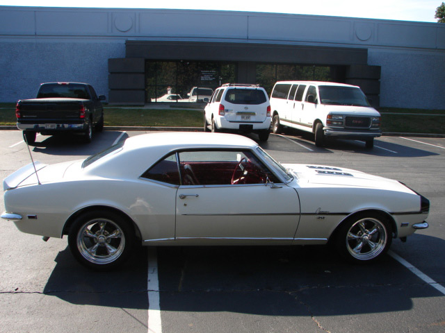 1968 CHEVROLET CAMARO RS/SS COUPE - Side Profile - 63962