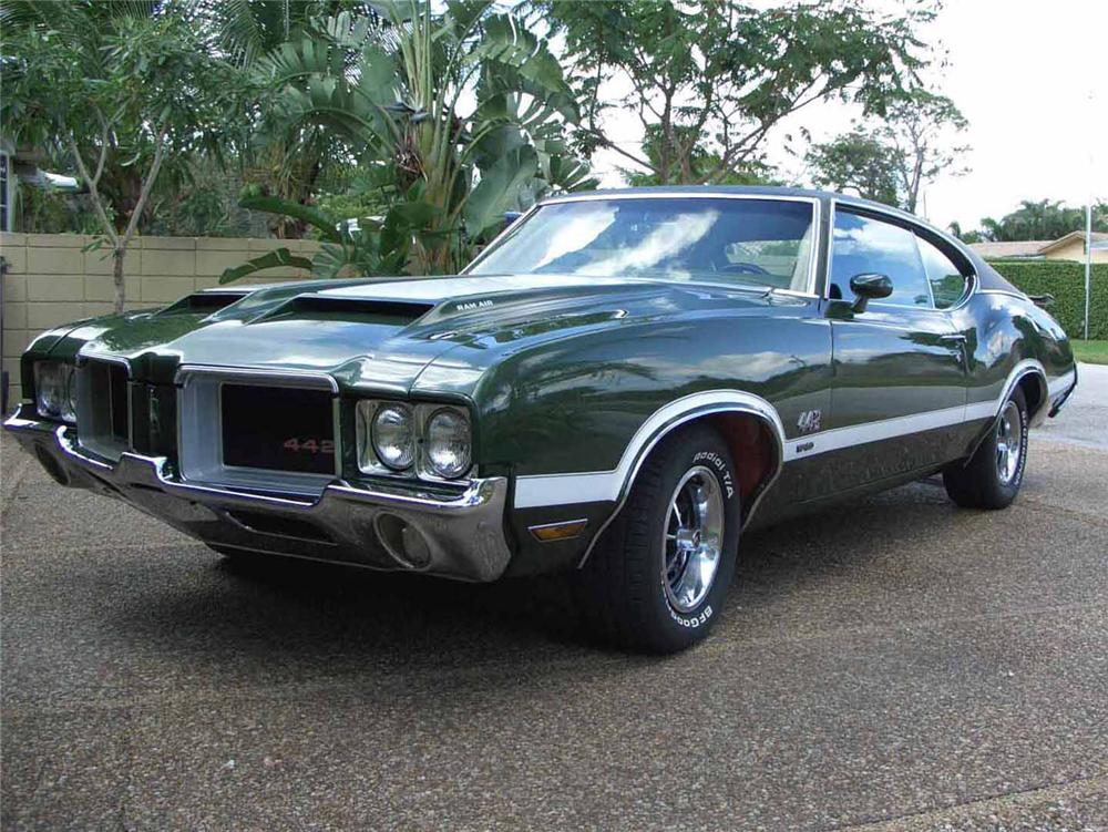 1971 OLDSMOBILE 442 W30 2 DOOR COUPE - Front 3/4 - 63969
