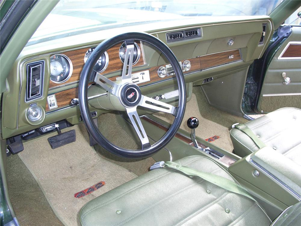 1971 OLDSMOBILE 442 W30 2 DOOR COUPE - Interior - 63969