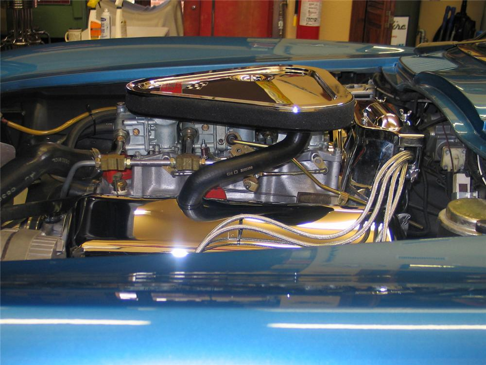 1966 CHEVROLET CORVETTE CONVERTIBLE - Engine - 63970