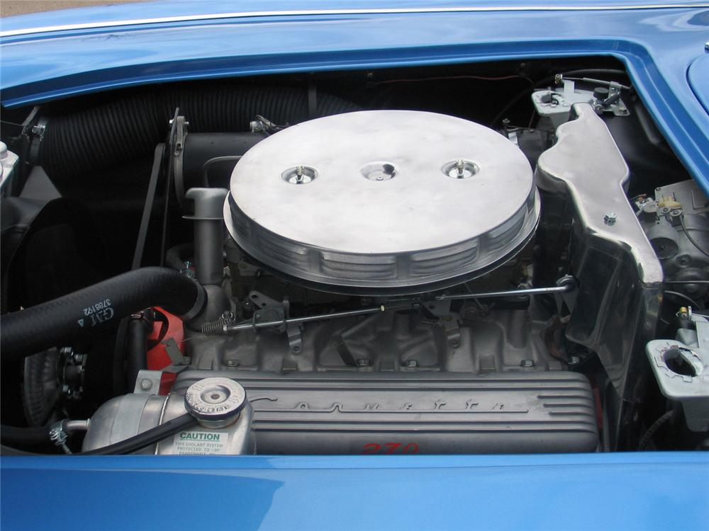 1961 CHEVROLET CORVETTE CONVERTIBLE - Engine - 63972