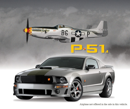 2008 FORD MUSTANG ROUSH P-51A FASTBACK - Front 3/4 - 63974
