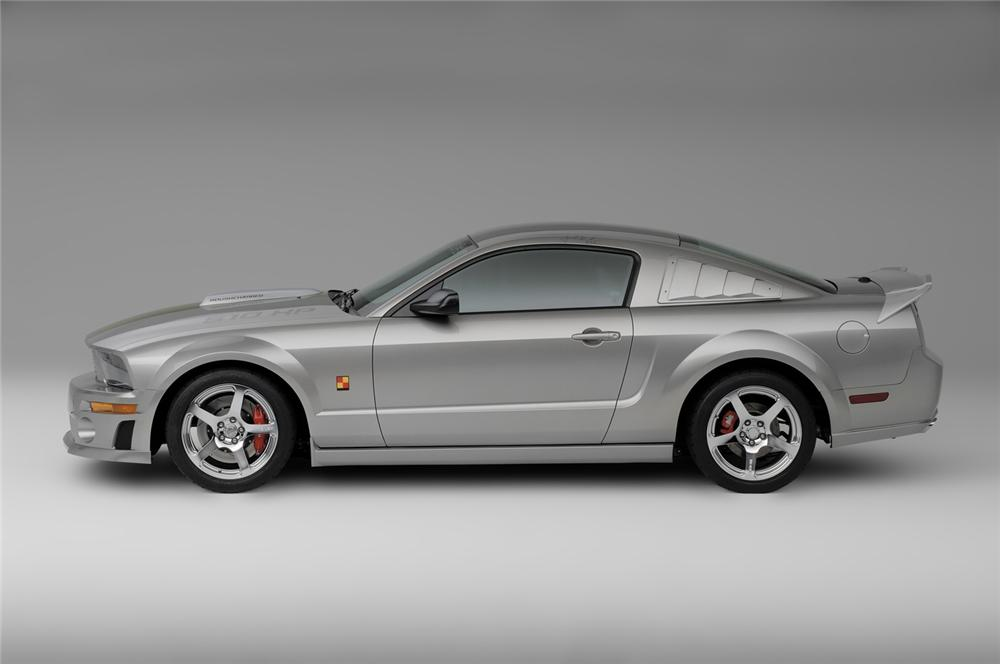 2008 FORD MUSTANG ROUSH P-51A FASTBACK - Side Profile - 63974