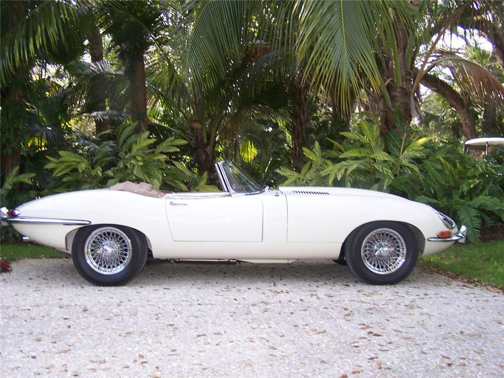 1965 JAGUAR E-TYPE CONVERTIBLE - Side Profile - 63975