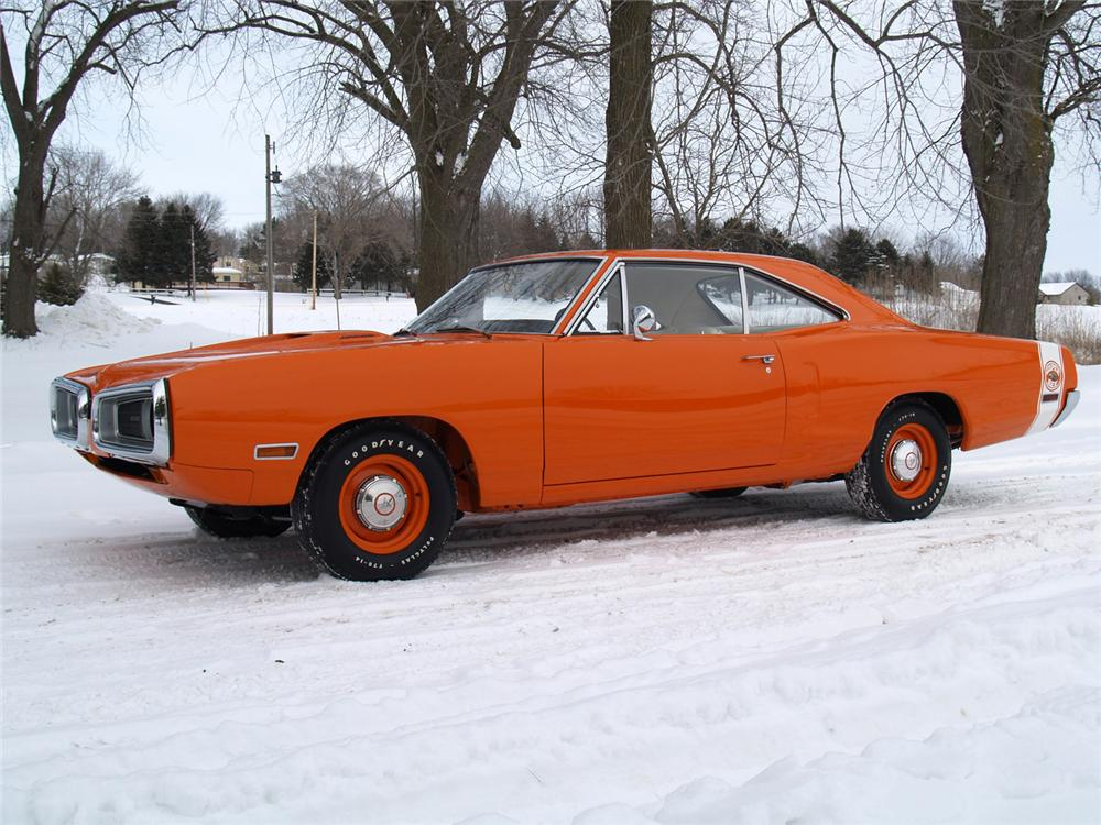 1970 DODGE SUPER BEE 2 DOOR HARDTOP - Front 3/4 - 63978