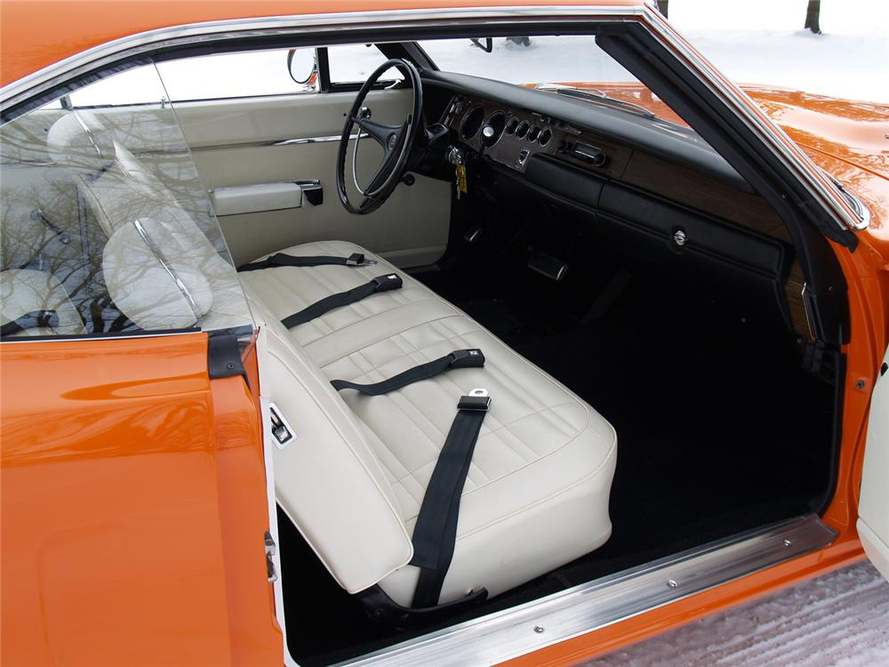 1970 DODGE SUPER BEE 2 DOOR HARDTOP - Interior - 63978