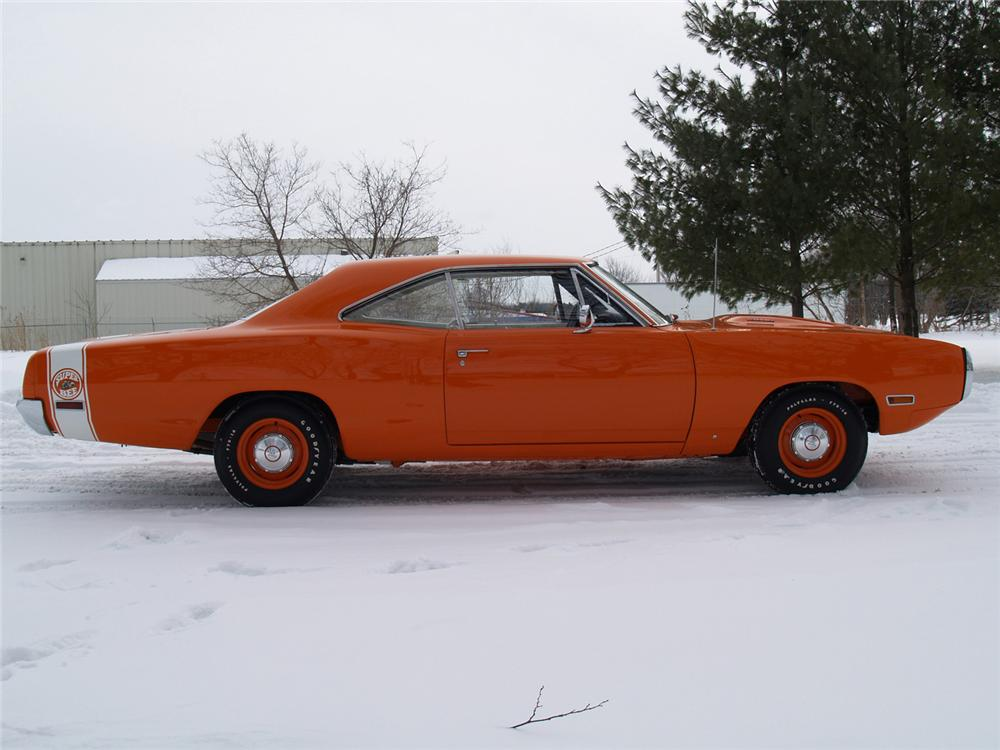 1970 DODGE SUPER BEE 2 DOOR HARDTOP - Side Profile - 63978
