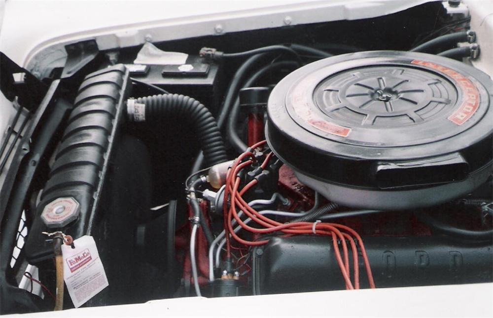 1959 FORD GALAXIE 500 RETRACTABLE - Engine - 63979