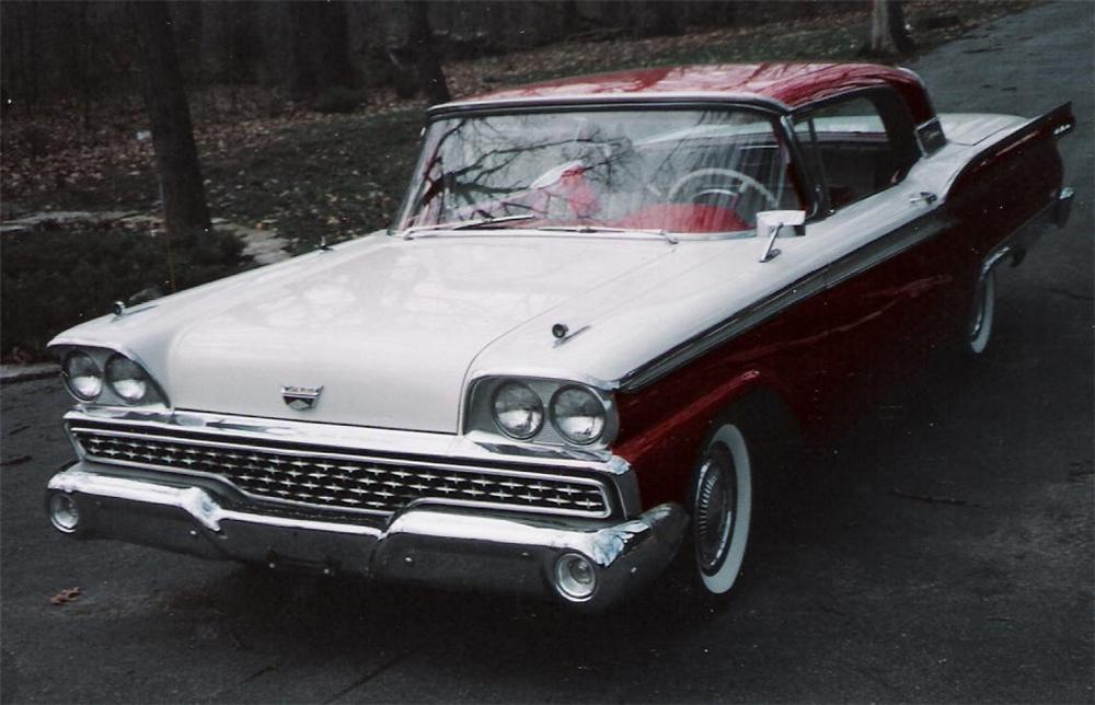 1959 FORD GALAXIE 500 RETRACTABLE - Front 3/4 - 63979