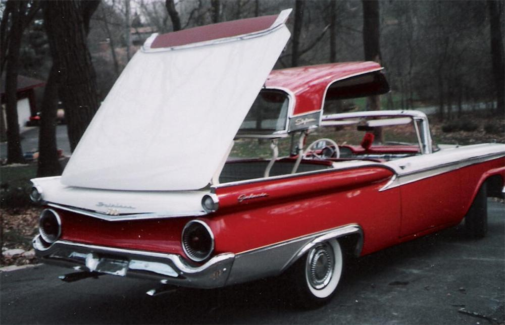 1959 FORD GALAXIE 500 RETRACTABLE - Side Profile - 63979