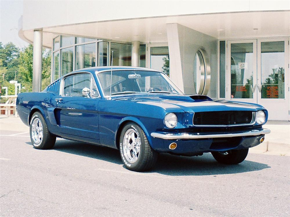 1965 FORD MUSTANG FASTBACK - Front 3/4 - 63980