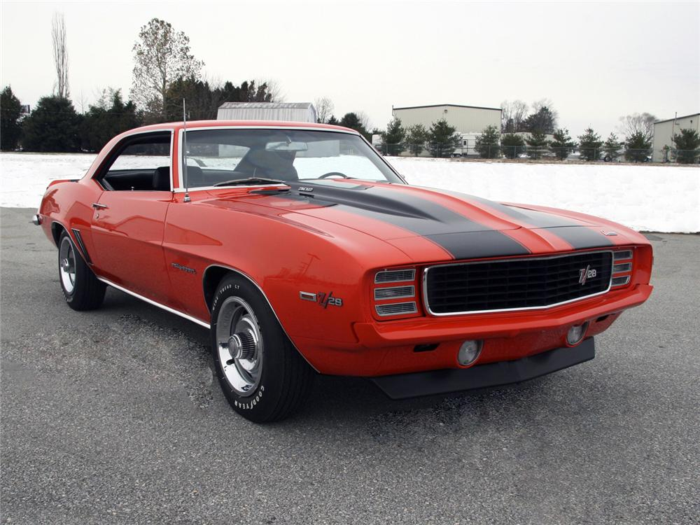 1969 CHEVROLET CAMARO Z/28 RS COUPE - Front 3/4 - 63998
