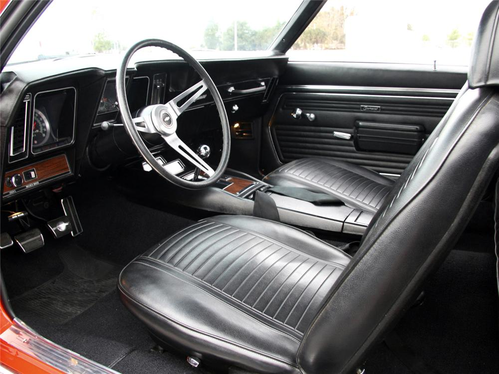 1969 CHEVROLET CAMARO Z/28 RS COUPE - Interior - 63998