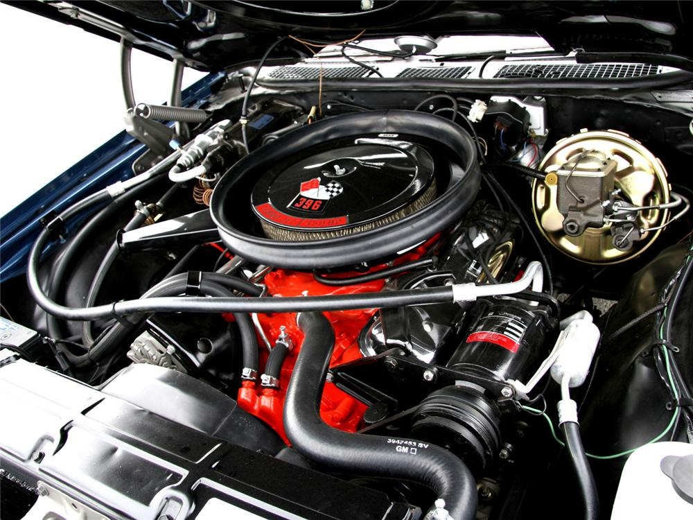 1970 CHEVROLET CHEVELLE SS SPORT COUPE - Engine - 64000