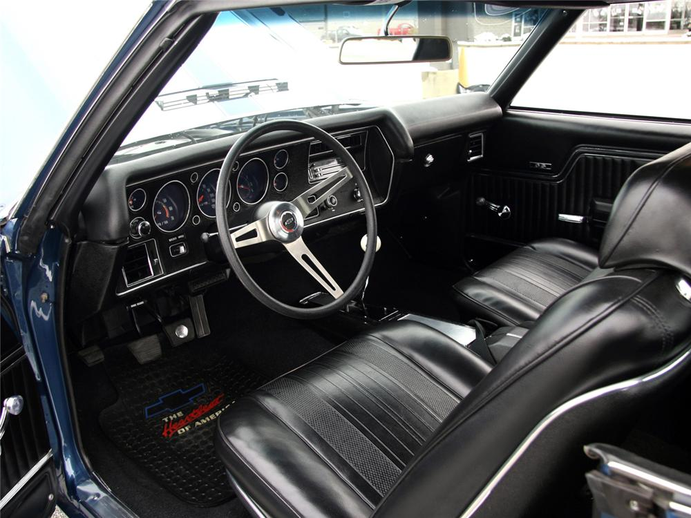 1970 CHEVROLET CHEVELLE SS SPORT COUPE - Interior - 64000