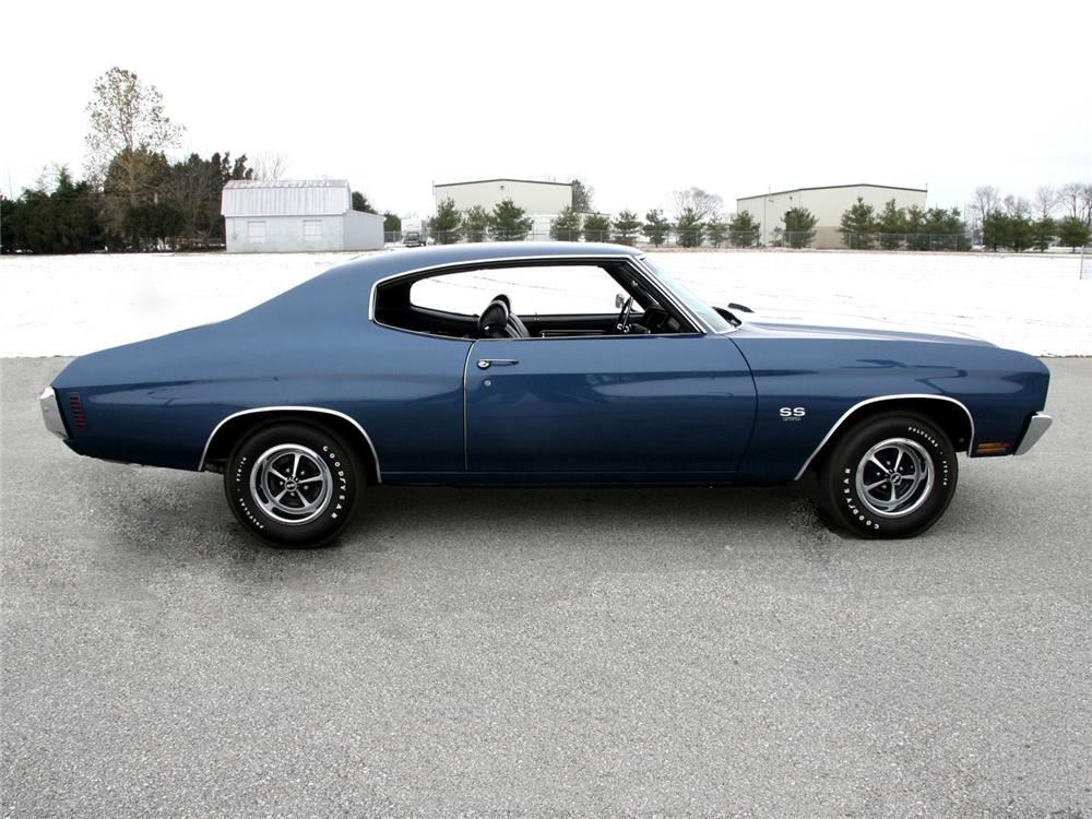 1970 CHEVROLET CHEVELLE SS SPORT COUPE - Side Profile - 64000