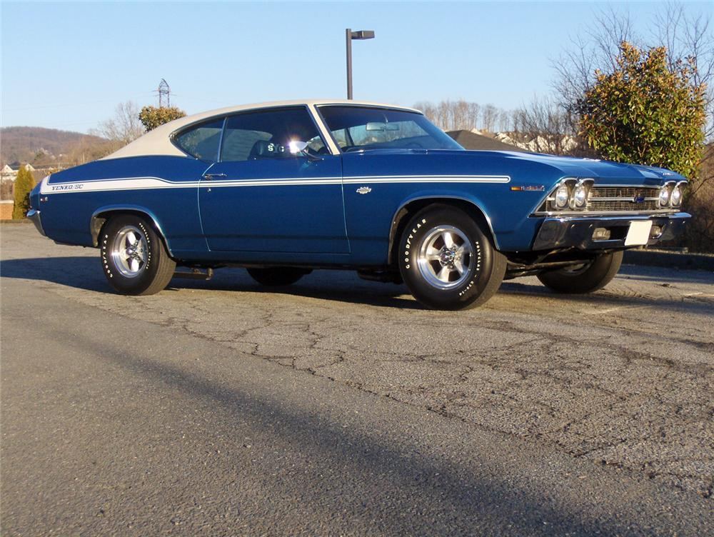 1969 CHEVROLET YENKO CHEVELLE RE-CREATION COUPE - Front 3/4 - 64004