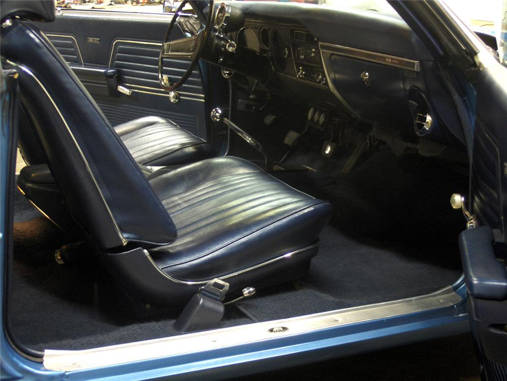 1969 CHEVROLET YENKO CHEVELLE RE-CREATION COUPE - Interior - 64004