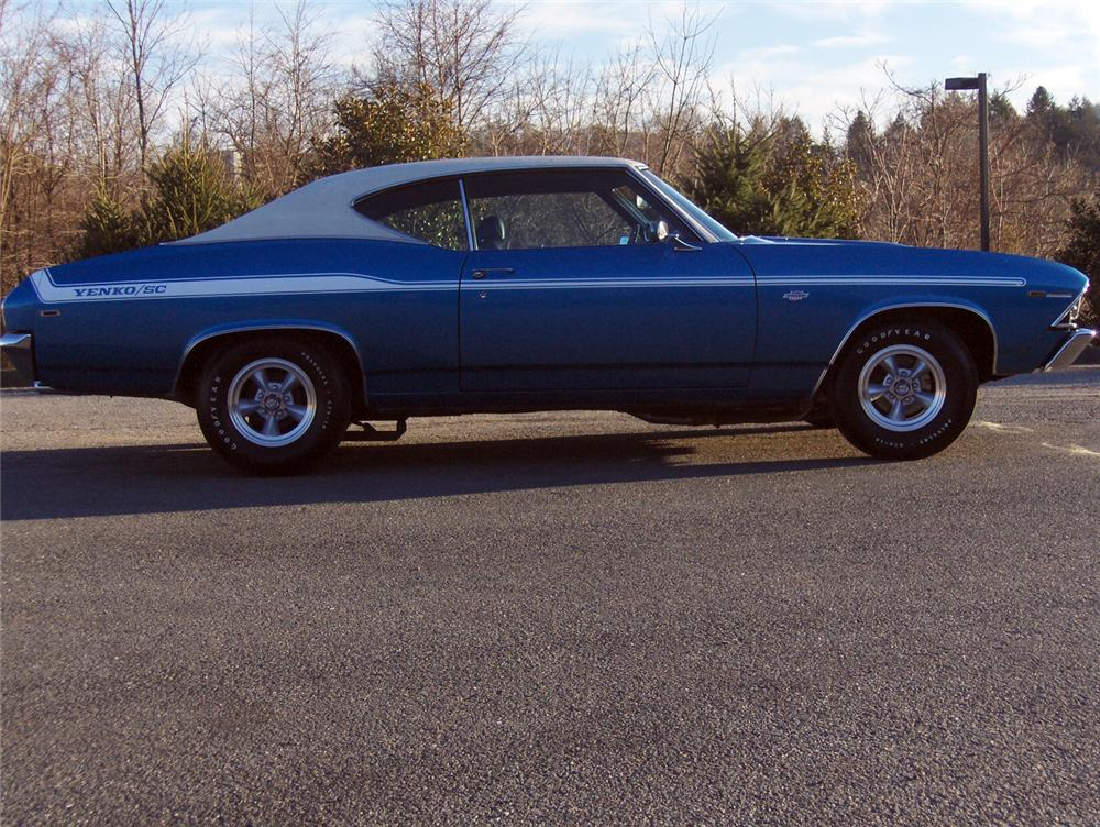 1969 CHEVROLET YENKO CHEVELLE RE-CREATION COUPE - Side Profile - 64004
