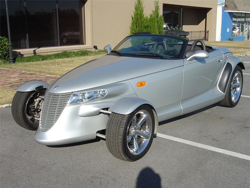 2001 PLYMOUTH PROWLER CONVERTIBLE - Front 3/4 - 64021