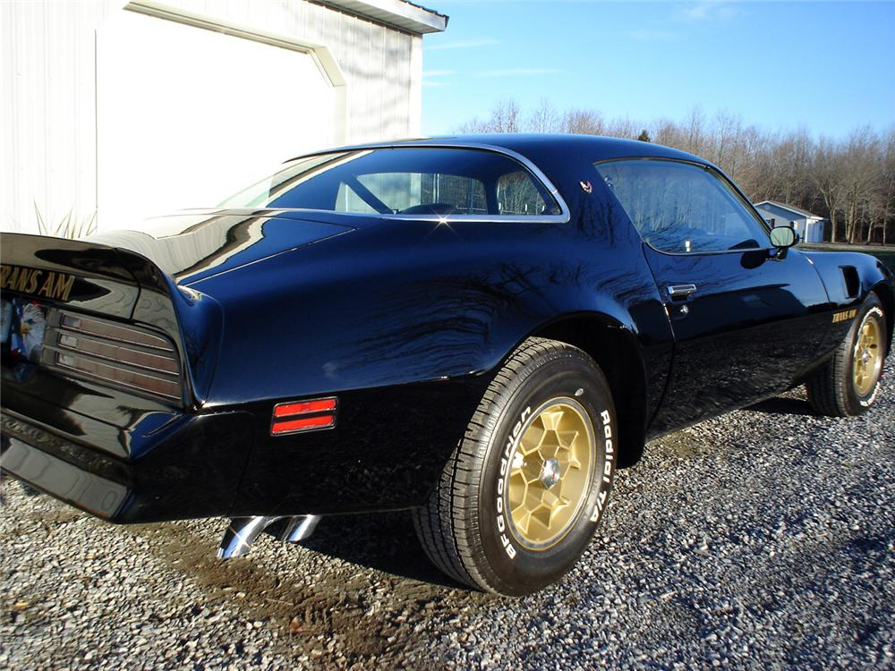 1976 PONTIAC FIREBIRD TRANS AM COUPE - Rear 3/4 - 64024