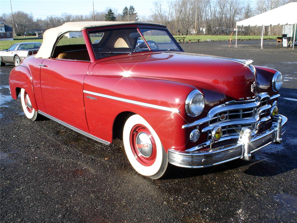 1949 DODGE WAYFARER SPORTS ROADSTER - Front 3/4 - 64025