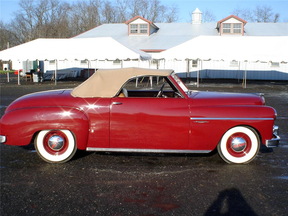 1949 DODGE WAYFARER SPORTS ROADSTER - Side Profile - 64025