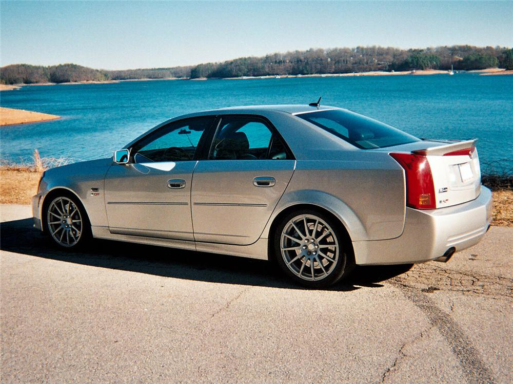 2005 CADILLAC CTS-V SPECIAL EDITION K-SERIES #001 - Rear 3/4 - 64029