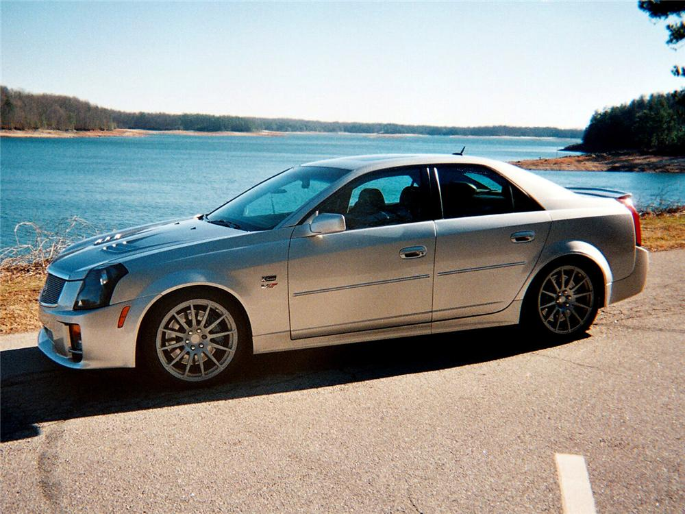 2005 CADILLAC CTS-V SPECIAL EDITION K-SERIES #001 - Side Profile - 64029