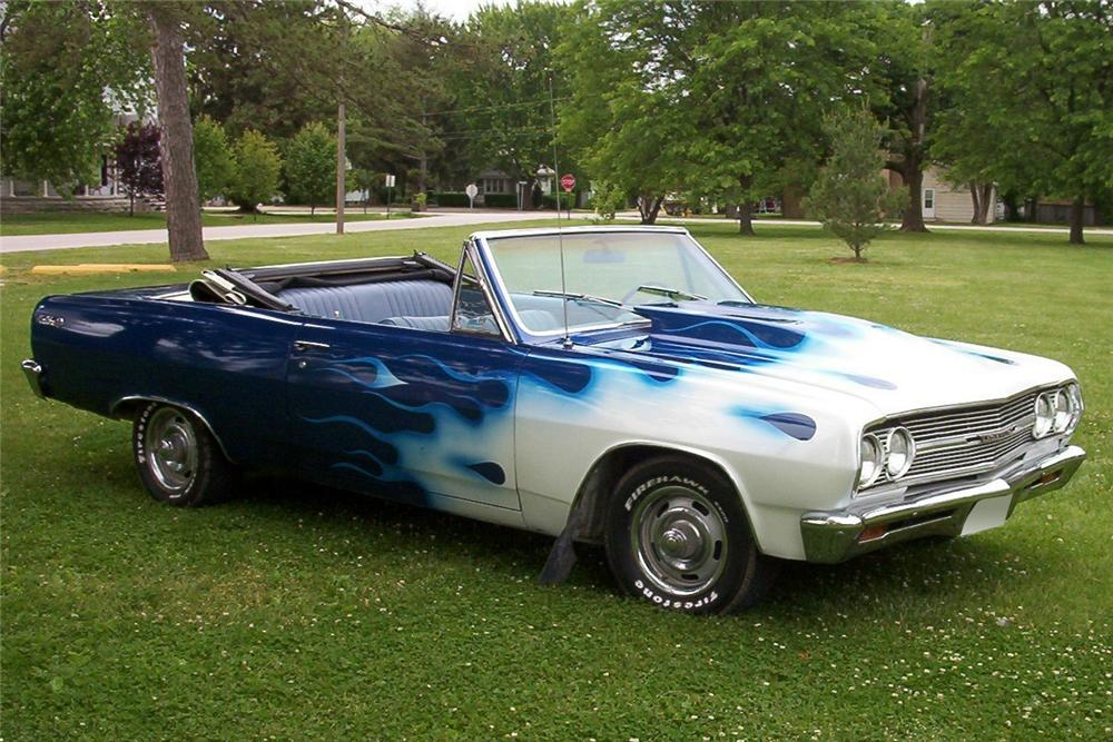 1965 CHEVROLET CHEVELLE MALIBU SS RE-CREATION CONVERTIBLE - Front 3/4 - 64041