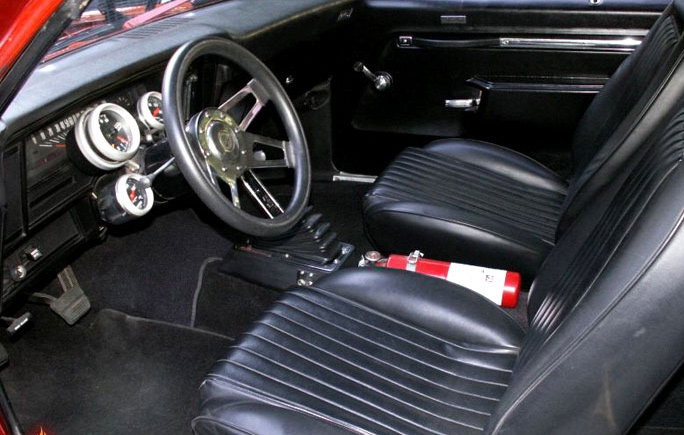 "1973 CHEVROLET NOVA CUSTOM ""CARLITOS WAY MOVIE CAR"" - Interior - 64046"