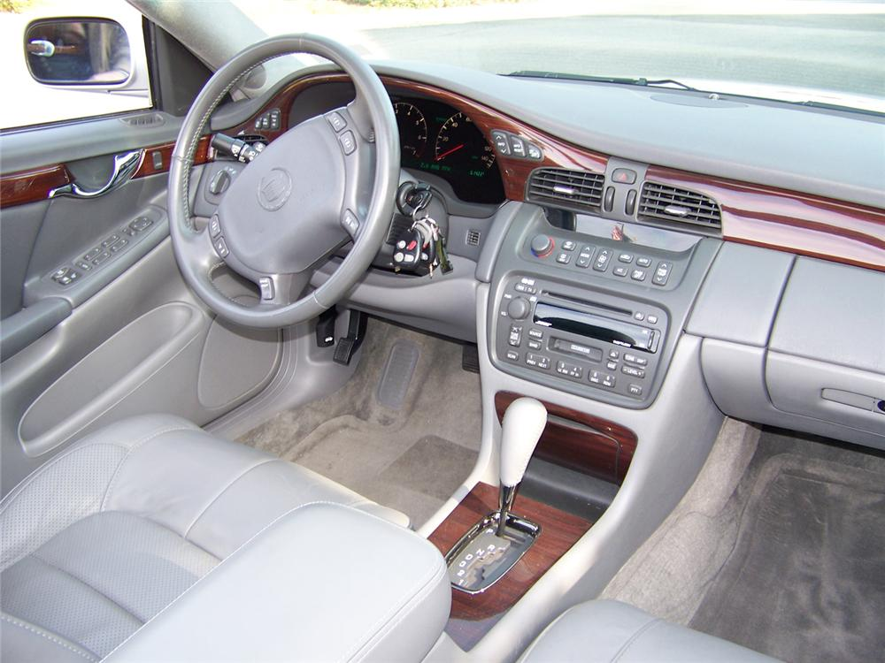 2003 CADILLAC DE VILLE CUSTOM 4 DOOR CONVERTIBLE - Interior - 64047