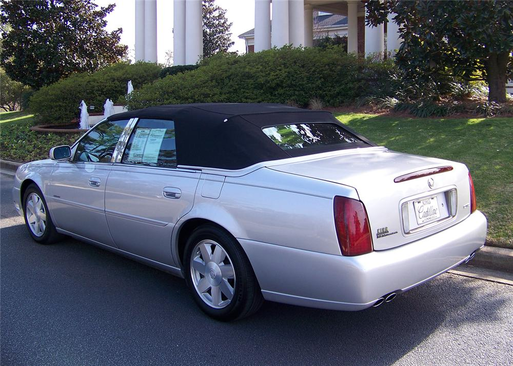2003 CADILLAC DE VILLE CUSTOM 4 DOOR CONVERTIBLE - Rear 3/4 - 64047