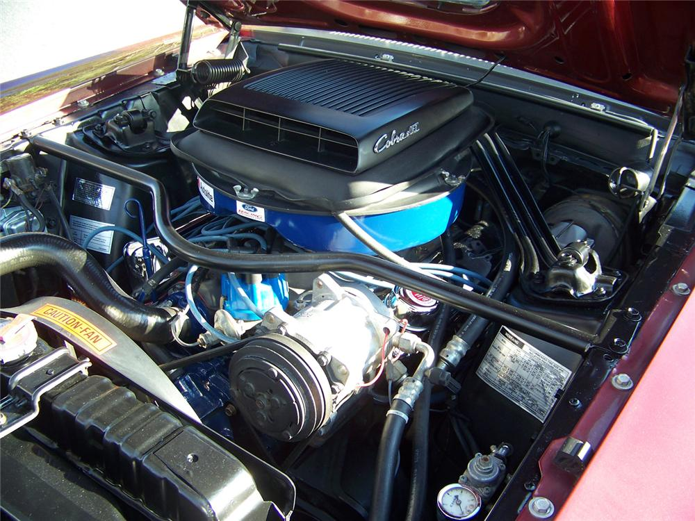 1969 FORD MUSTANG MACH 1 FASTBACK - Engine - 64051
