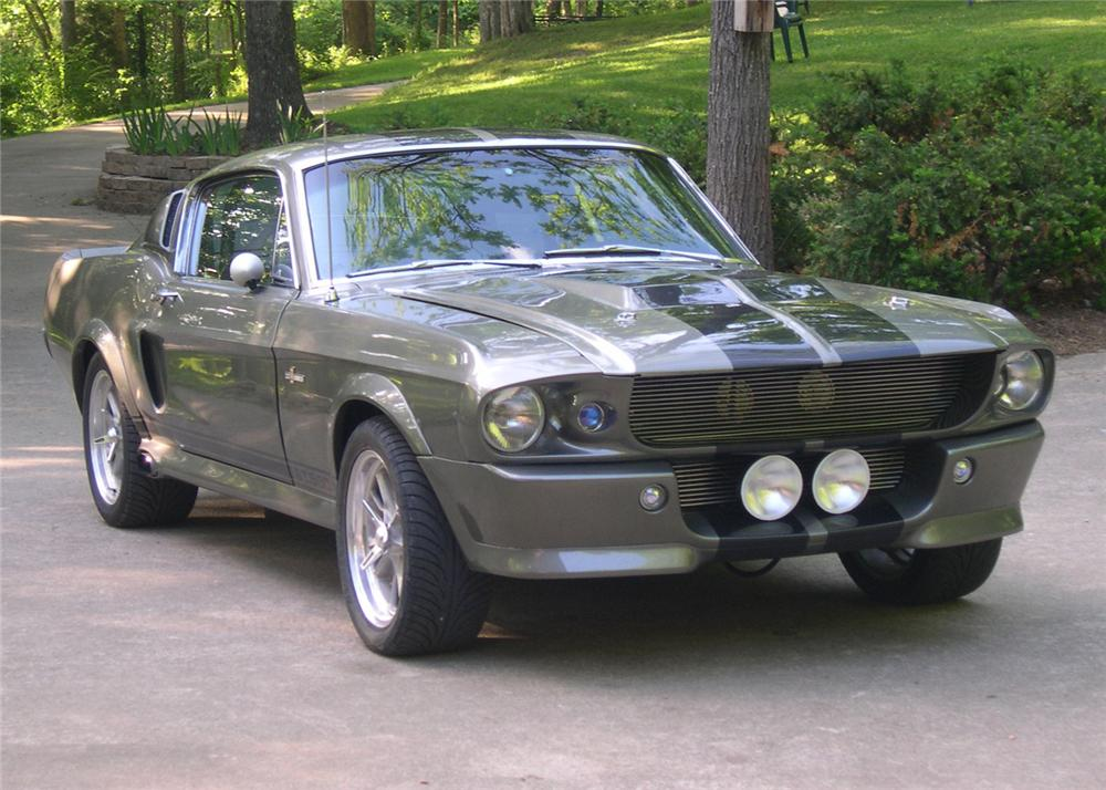1968 FORD MUSTANG ELEANOR RE-CREATION - Front 3/4 - 64058