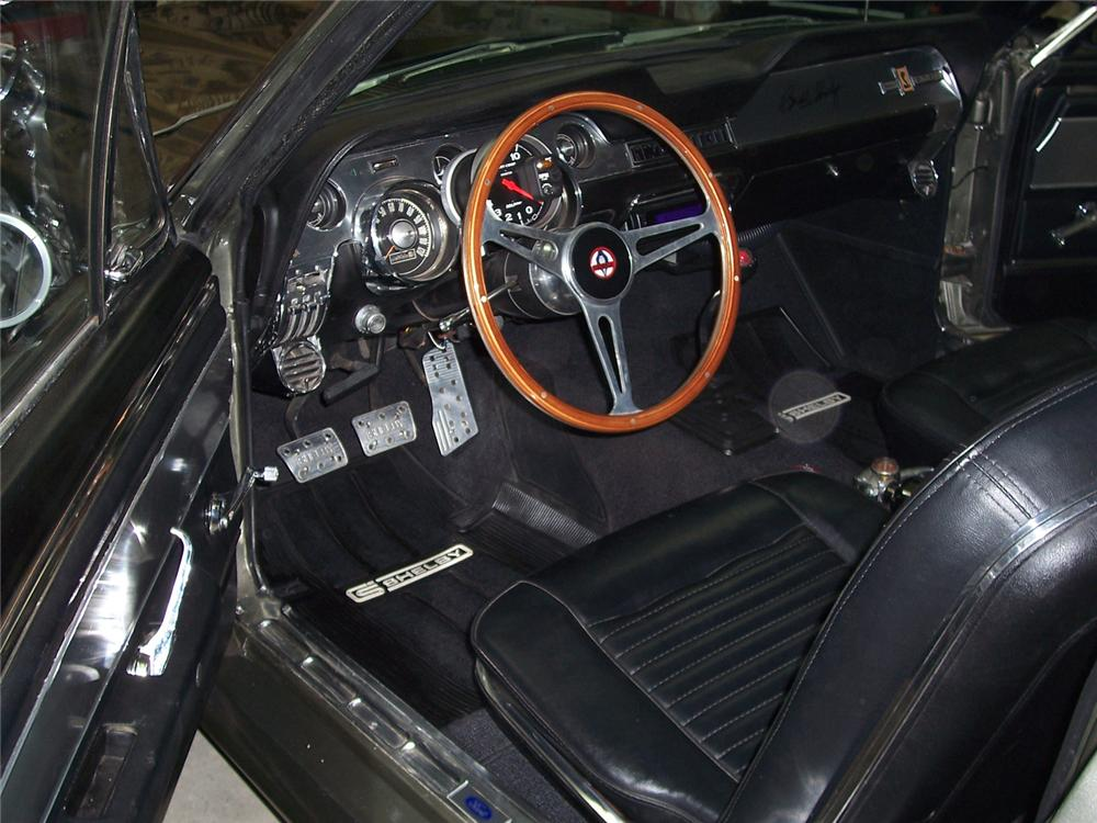 1968 FORD MUSTANG ELEANOR RE-CREATION - Interior - 64058