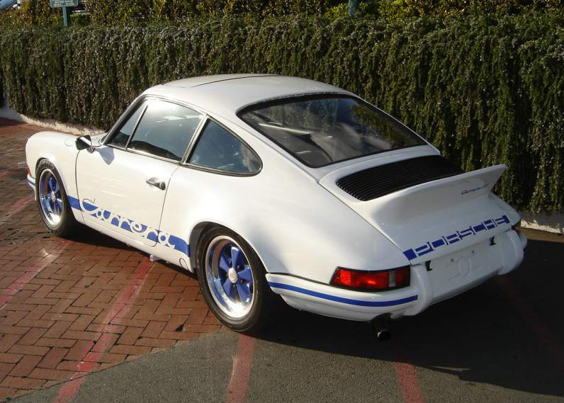 1979 PORSCHE 911 RS RE-CREATION COUPE - Rear 3/4 - 64065