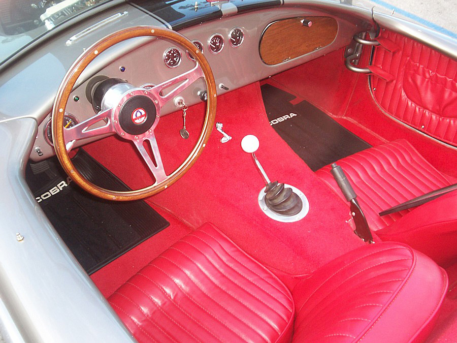 1967 SHELBY COBRA RE-CREATION ROADSTER - Interior - 64074