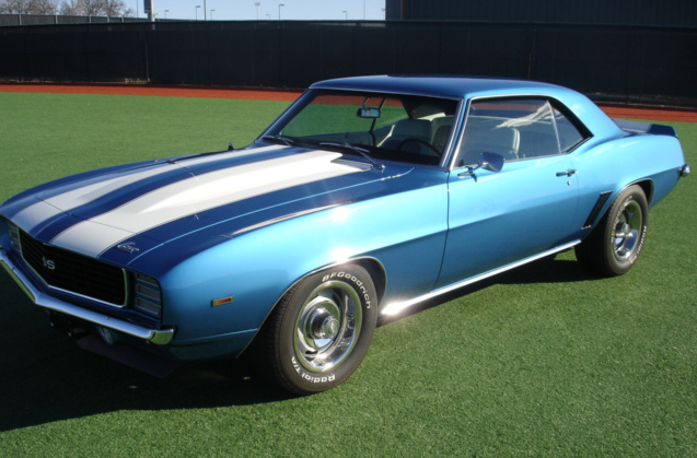 1969 CHEVROLET CAMARO RS/SS COUPE - Front 3/4 - 64077
