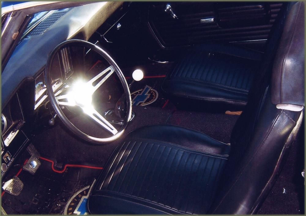 1969 CHEVROLET CAMARO COUPE - Interior - 64080