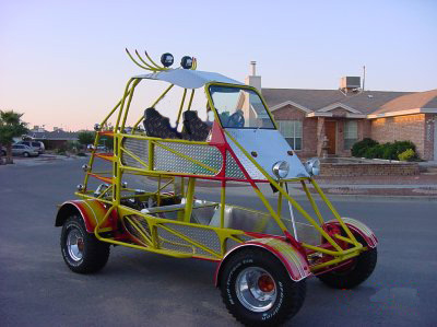 2006 HARTLEY HIGHRIDER DUNE BUGGY PROTOTYPE - Front 3/4 - 64091