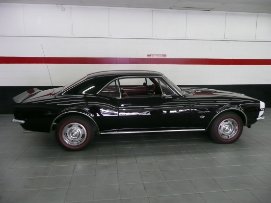 1967 CHEVROLET CAMARO RS/SS 2 DOOR COUPE - Side Profile - 64096