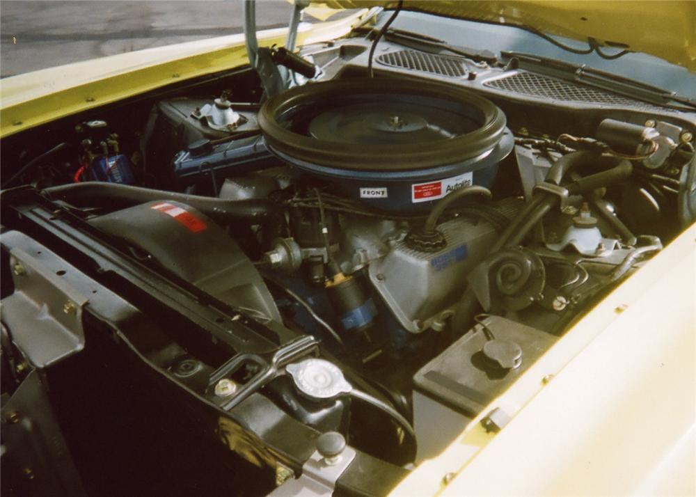 1971 FORD MUSTANG BOSS 351 SPORTSROOF - Engine - 64102