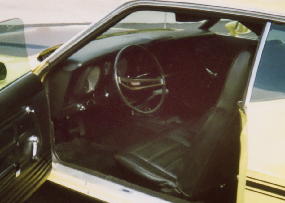 1971 FORD MUSTANG BOSS 351 SPORTSROOF - Interior - 64102