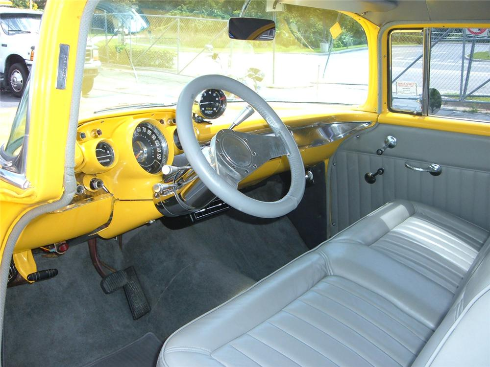 1957 CHEVROLET 210 POST CUSTOM - Interior - 64107