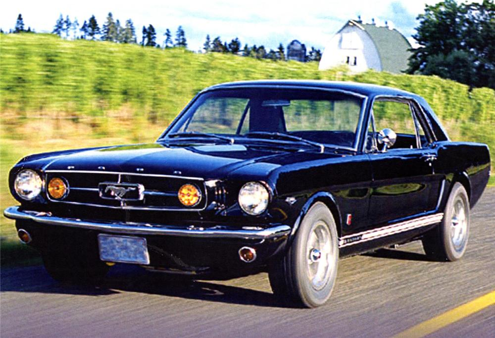 1965 FORD MUSTANG GT COUPE - Front 3/4 - 64117