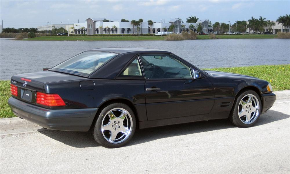 1997 MERCEDES-BENZ 500SL CONVERTIBLE - Rear 3/4 - 64131