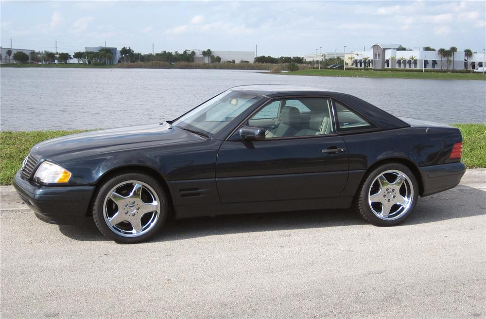 1997 MERCEDES-BENZ 500SL CONVERTIBLE - Side Profile - 64131