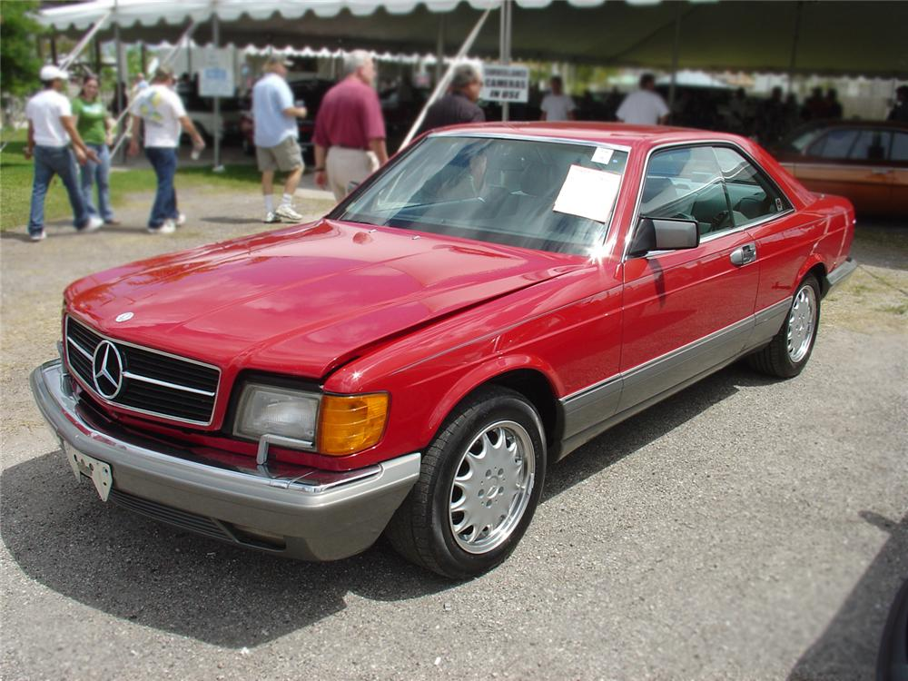 1988 MERCEDES-BENZ 560SEL COUPE - Front 3/4 - 64142